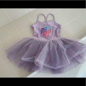 NWT My Little Pony Ballet Leotard Skirt